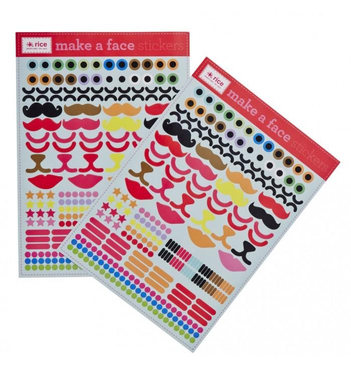 Stickers Create A Face! - Rice DK