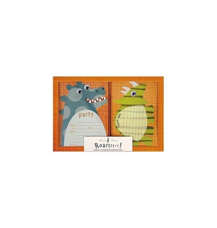 Meri Meri Birthday Cards - Dinosaurs