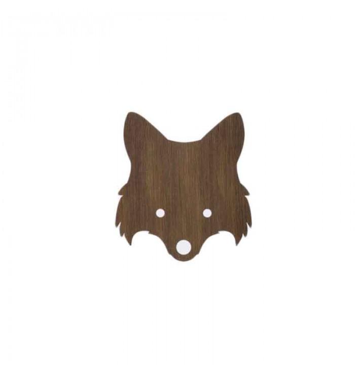 Lampada da parete in legno - volpe - Ferm Living