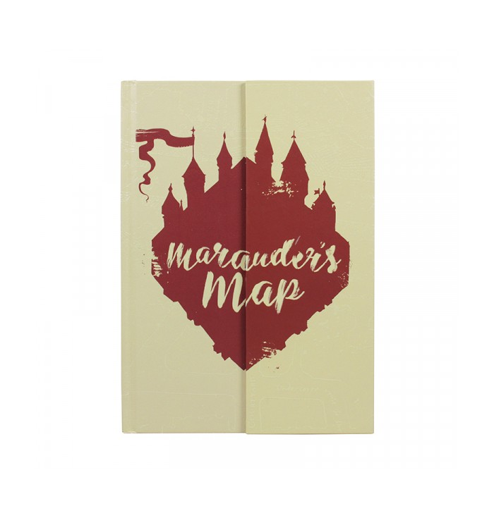 Notebook Harry Potter - Of The Marauder's Map