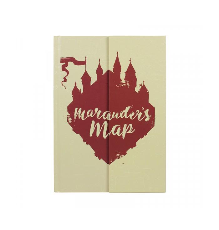 Quaderno Harry Potter - Mappa Del Malandrino