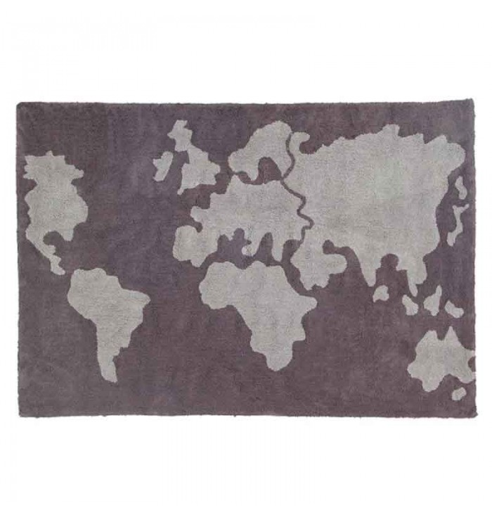 World Map Rug - Lorena Canals