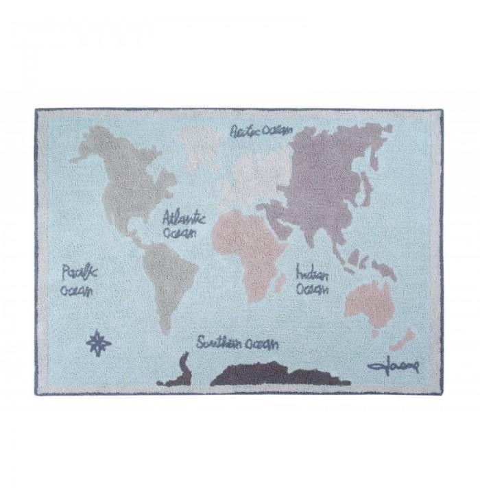 Vintage Map Rug - Lorena Canals