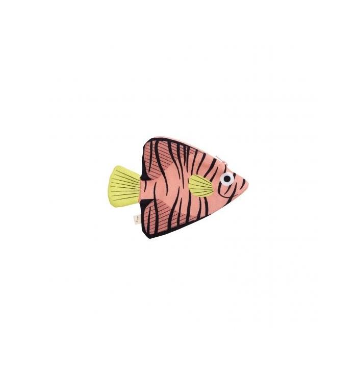 Keychain shaped like batfish - Don Fisher