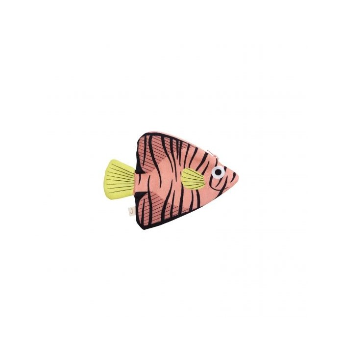 Keychain shaped like batfish