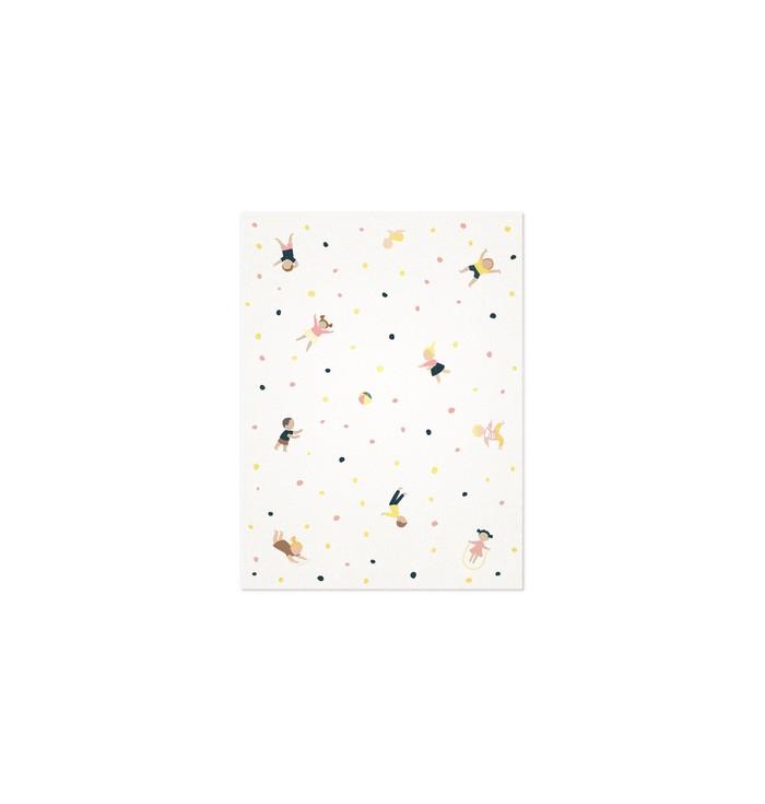 Tappeto rettangolare in lana - Studio Sirio