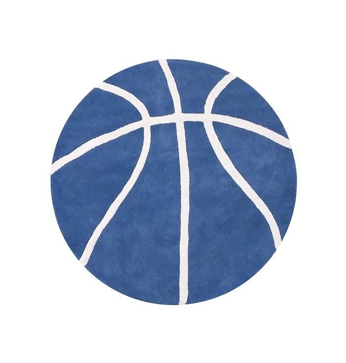 Carpet Round Ball Basketball - Blue