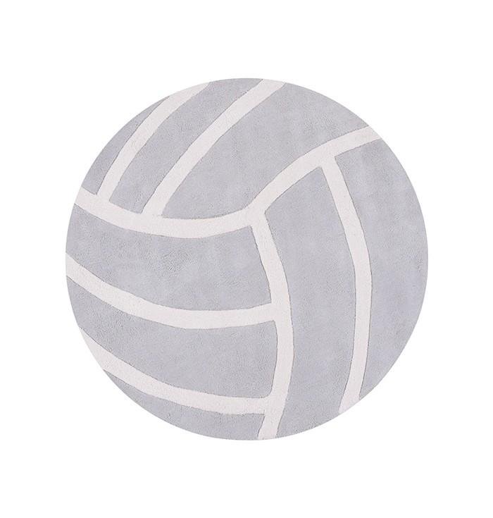 Tappeto Lilipinso - pallavolo grigio