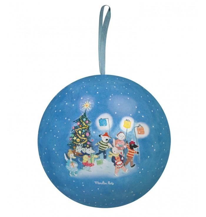 Christmas Ball Metal Containment