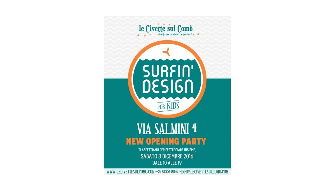 Surfing Design! New Opening Party